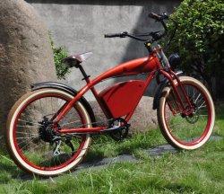 Nuovi bici elettrica dell'incrociatore della spiaggia del motore della batteria ricaricabile di figura di promozione 2020 di sconto di arrivo bella