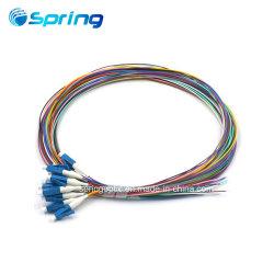 Trecce ottiche del nastro del cavo ottico della treccia del gruppo della fibra di LC