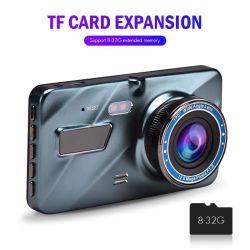 Enregistreur vidéo de voiture DVR 4 3 pouces HD 1080P Caméra Dash Cam vue arrière caméra double vision nocturne grand angle Enregistrement vidéo des enregistreurs de voiture