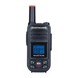La PMR 446MHz 0.5watts Radio bidireccional sin licencia de código de Walkie Talkie Ce aprobación FCC