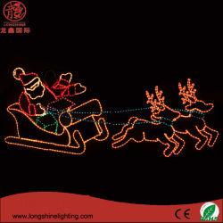 サンタクロースLEDのクリスマスの照明