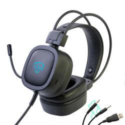 Стерео гарнитура компьютерных игр с микрофоном (M21)