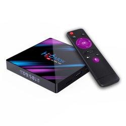 Haute qualité Personnalisez le chipset H96max Rk3318 Netflix Quad Core 4/32GB Lecteur multimédia Android