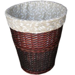 Ивы плетеной плетеной прачечная хранения препятствуют корзину