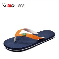 Los niños cómodo Flip Flop Playa zapatillas de suela de goma pisos Flip-Flops personalizado