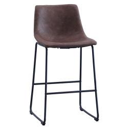 現代デザインナイトクラブの金属の中間の背部鉄棒の腰掛け