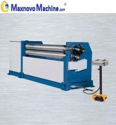 Высокая точность под действием электропривода асимметричный 3-ролика пластины подвижного состава и гибочный станок (KRMS-4X2000)