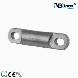 Los racores de pasamanos de acero inoxidable 304/316 de la barra transversal soportes para tubo