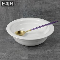 Bol de soupe profonde Bol en porcelaine bol pour le buffet du restaurant