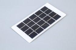 Vidrio laminado de alta eficiencia mini de 1,6 W 5V Poli Panel Solar para Motor DIY Kit de juguete de la luz de la bomba de carga de batería de 3.7V