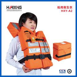 На заводе поставщика высокое качество пены ЭПЕ спасательный жилет для взрослых Annd Кид с CCS сертификат
