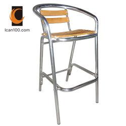 Высокая температура сопротивление в Саду старинной деревянной фанеры бар табурет стул