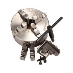 """5 """"インチの旋盤のチャック4の顎の自動調心チャックの直径125mm"""