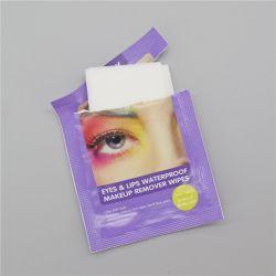 Глаза и губы водонепроницаемый салфетки для снятия макияжа