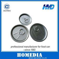 도매 알루미늄 쉬움 오픈 엔드/플라스틱 병 뚜껑 음식 캔 알루미늄 캔 등 식품 포장