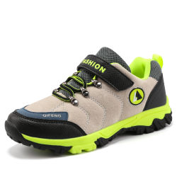 La Chine la lumière de la marque Bottes de randonnée Nouveau mode de garçons Chaussures de randonnée