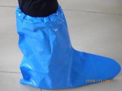De espesor PE/CPE/desechables Cubrezapatos de plástico resistente al agua botas