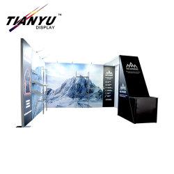 Feria de Exposiciones de productos de Rápido montaje de stand Stand Feria portátiles mostrar