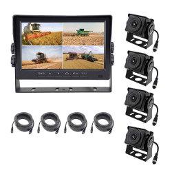 Ahd камера ночного видения четко Ultra 360 Panorama с 7 дюйма ЖК-дисплей отображается 4-направлении ситуациях