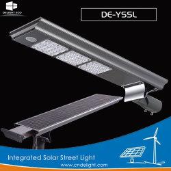 Las delicias de todos en un LED de energía solar integrada de la luz de la calle