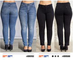 Señoras personalizado de alta calidad pantalones jeans para mujeres de la fábrica China