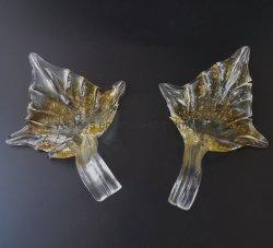 Handgemachtes Glasblatt für Decken-Lampe Pendant& Hochzeits-Dekoration