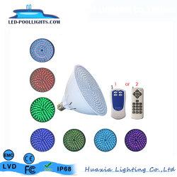 Huaxia 18watt par56 E27 Voyant de la piscine de changement de couleur de lumière pour piscine creusée Hx-par56-E27