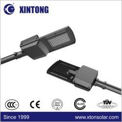 Xintong屋外の照明プロジェクト30W 40W 50W 60W 70W 80Wの工場価格のための太陽LEDの通りの動きセンサーランプ5年の保証