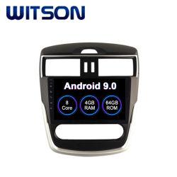 Auto-DVD-Spieler des Witson Octa-Kern Android-9.0 mit GPS für Selbstklimaanlagen-Version 2016 Nissan-Tiida