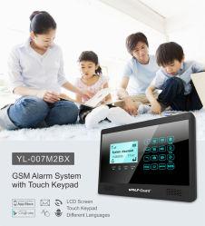 Wolf Guard DIY GSM 4G sans fil WiFi Smart Home Automation. Système de sécurité d'alarme 4G avec l'espagnol, italien, français et de l'APP tchèque Contact ID et libre de capteurs de portes