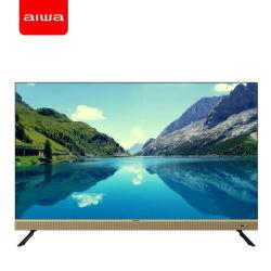 N19g 50インチのAiwaのフラットスクリーン狭いところの斜面人間の特徴をもつスマートなUHD 4K LCD LED TV、ハイファイ音楽TV
