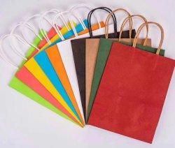 Custom CCNB/l'impression couleur de l'emballage en carton blanc main Sac en Papier cadeau