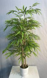 Il bambù di bambù di falsificazione dell'albero di simulazione di bambù artificiale lascia i mestieri della decorazione