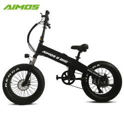 20 인치 통합 건전지를 가진 전기 뚱뚱한 타이어 자전거 전기 자전거