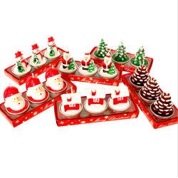 جميل عيد ميلاد المسيح عيد ميلاد مبتكر بارافين شمع يشمّ عمود شمعة