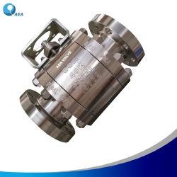 Korrosionsbeständiges Inconel Duplex Edelstahl A182 F51 F53 PMW-F55 F2205 A890 4A, 5 A, Kugelventilschieber mit Flansch, Kugelventil, Rückschlagventil