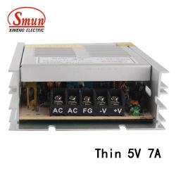 SMB-35-5 35W 5V 7A 매우 얇은 동봉하는 엇바꾸기 전력 공급