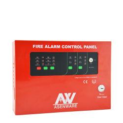 Painel de controle convencional do alarme de incêndio da zona do fio 2