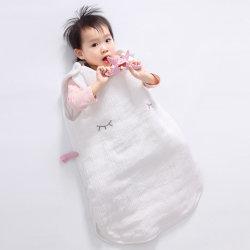Bkd малыша спать Muslin Nest спальный мешок, теплый детский спальный мешок для новорожденных и грудных детей регулируемый Детский Спальный мешок