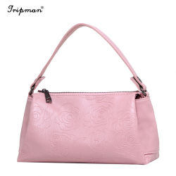 حقيبة Tripman المخصصة للأتربة لحقيبة اليد تصميم الأزياء أنماط PU Handbag لعام 2018