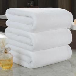 Tovagliolo di bagno puro dell'hotel del cotone del jacquard di prezzi di fabbrica (JRC026)