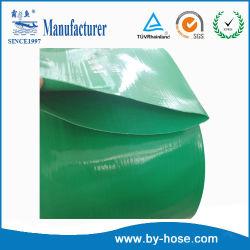 Flexible de PVC de 8 pulgadas de agua de descarga de disposición plana tubo flexible para la Industria y Agricultura Riego
