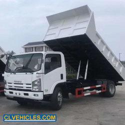 아주 새로운 Isuzu 700p 4X2 6wheelers 8ton에 의하여 사용되는 덤프 트럭 빛 의무 8cbm 팁 주는 사람 트럭