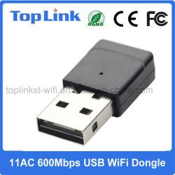 Dongle de alta velocidade do USB WiFi do chipset de 11AC 600Mbps Realtek Rtl8811au