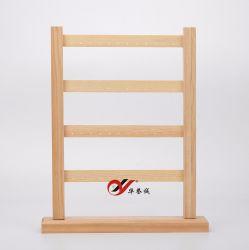 4 camadas de madeira originais brinco suporte de ecrã