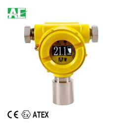 Équipement de test de détecteur de fuite de gaz fixe avec capteur importés