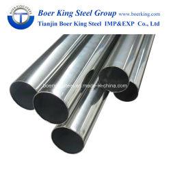 201 304 304L 316 430 316L de 2 pouces de tuyau en acier inoxydable sans soudure