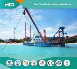 Alta qualidade 1195kw Sand draga de sucção do Cortador Draga Navio de escavação/ Boat/ equipamento de exploração mineira