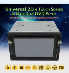 Универсальный 2 DIN DVD 6,95-дюймовый сенсорный экран Wince 6.0 Audio автомобильной системы GPS