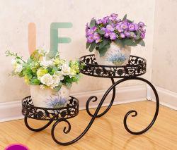 Suporte de flores de metal novos desenhos estilo europeu o suporte do potenciômetro da flor de ferro